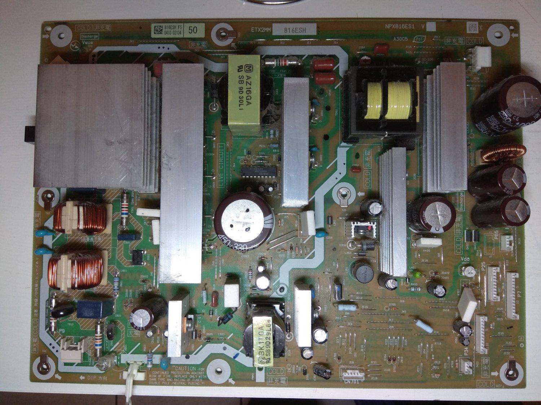 Power Supply Board ETX2MM816ESH NPX816ES1 for PANASONIC TX-P50V20E Plasma TV