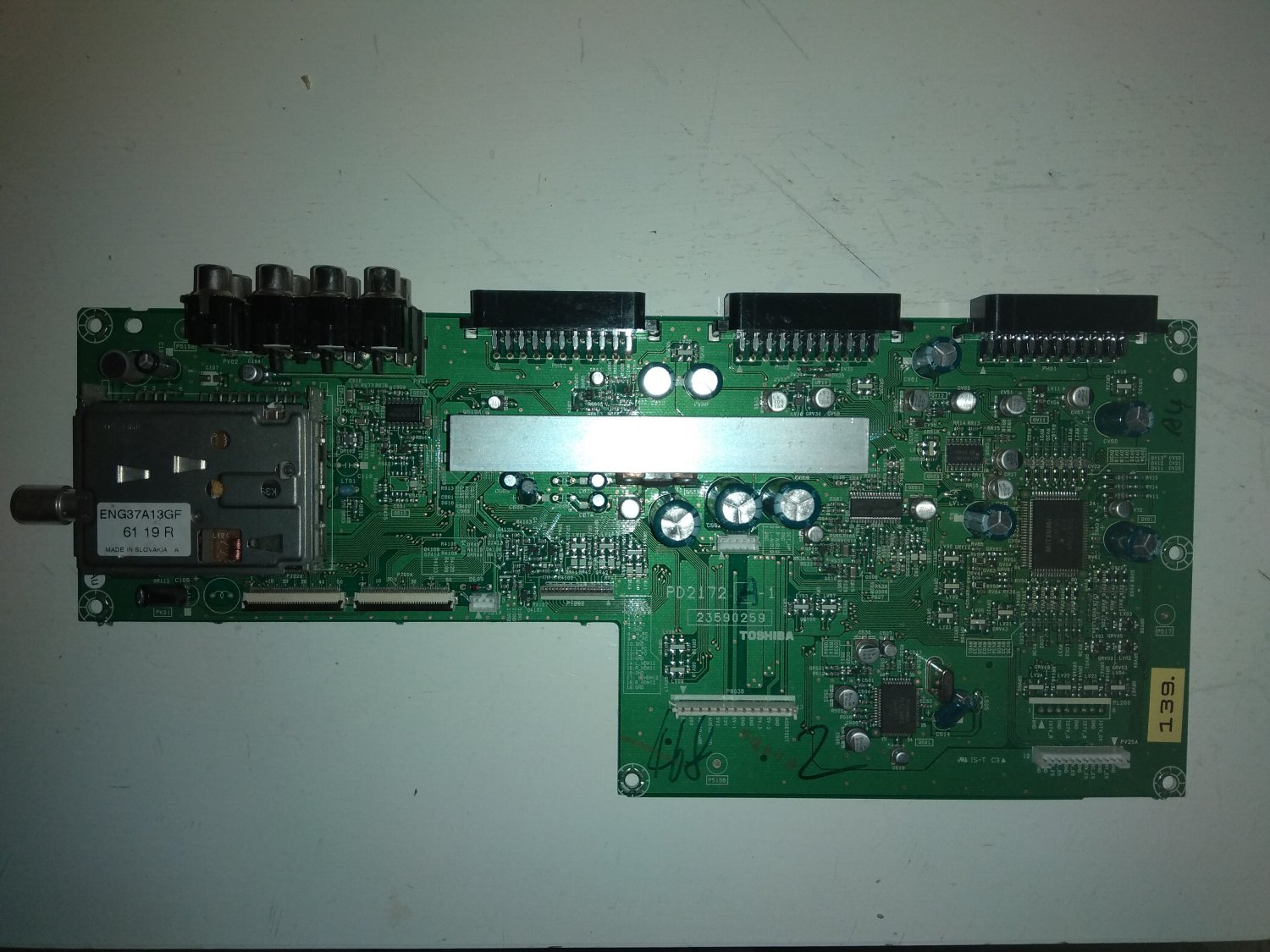 Toshiba Mainboard PD2172 A-1 for LCD TV Toshiba 37WL58P