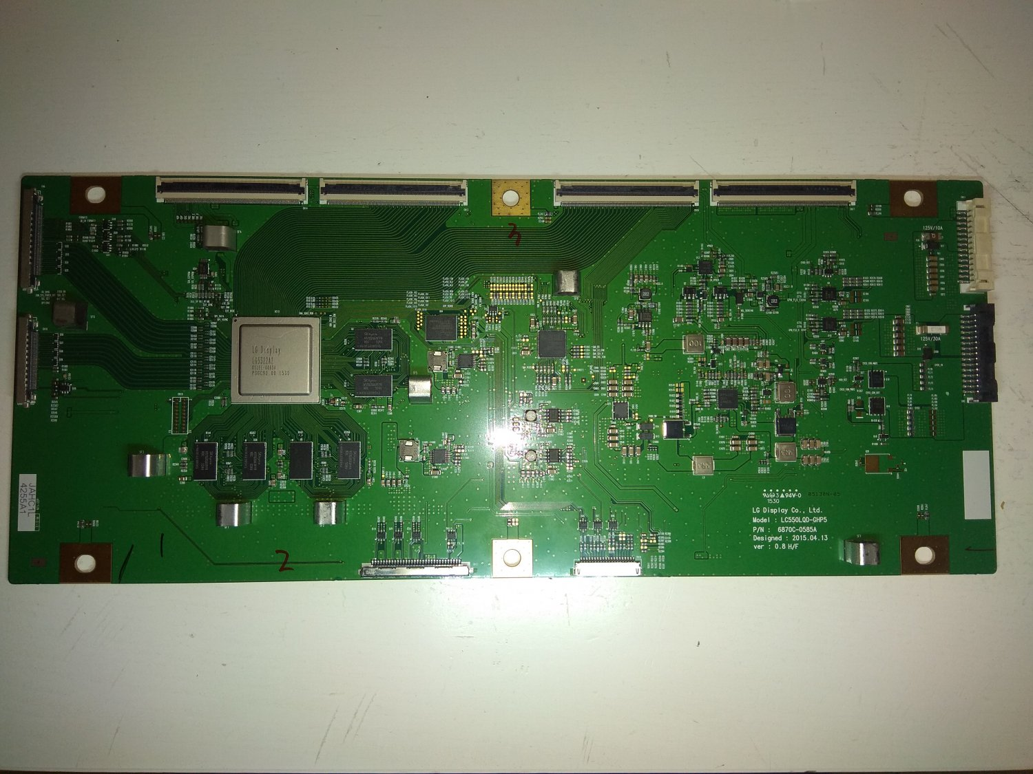 LG T-Con Board 6870C-0585A for OLED TV LG 55EG9609