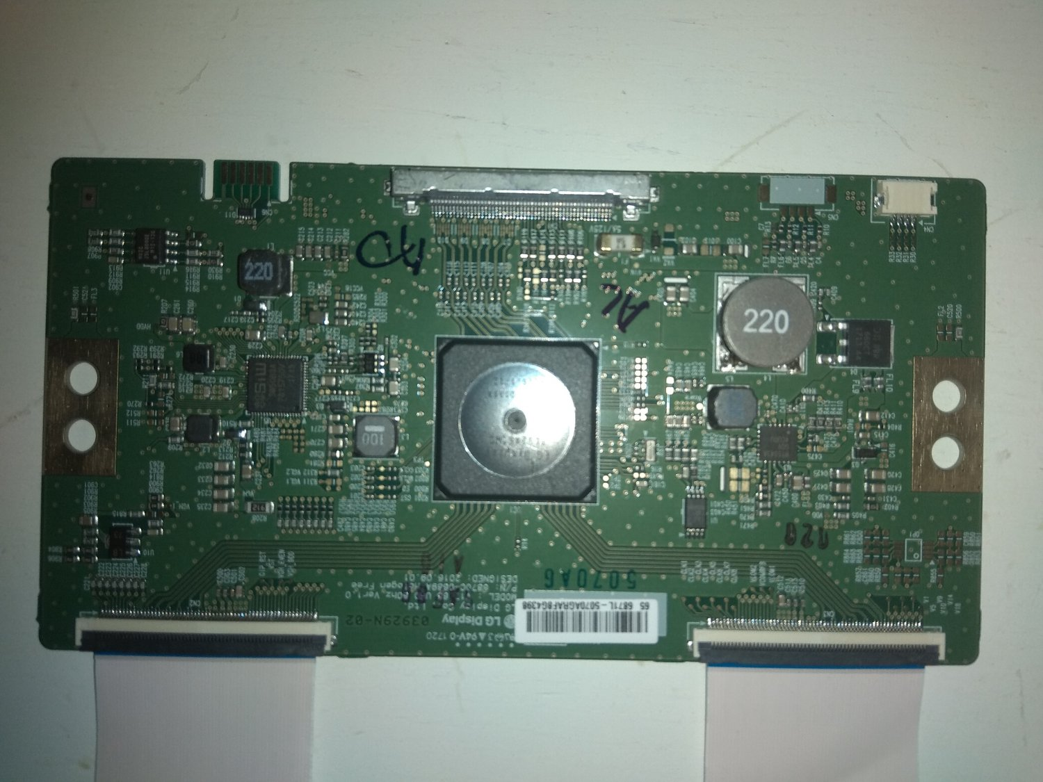 LG T-Con Board 6870C-0750A for LED TV LG 65UJ6309