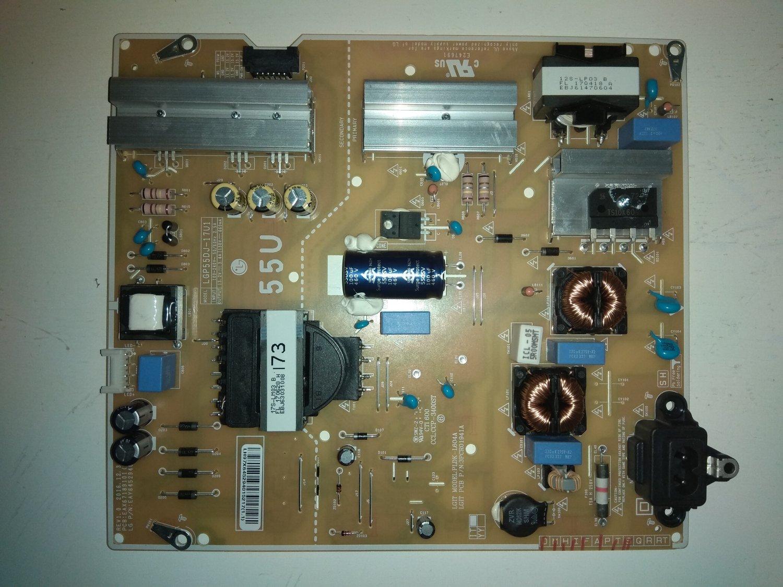 LG Power Supply EAX67189101(1.4) EAY64529401 for LED TV LG 55UJ634V