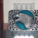 New American Eagle Pewter Finish Metal Belt Buckle