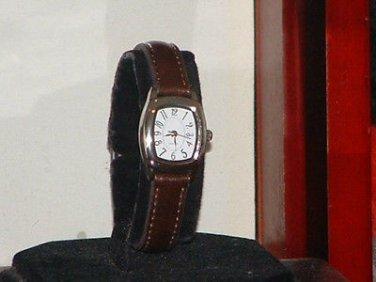 Ladies Casual Brown & Silver Quartz Watch
