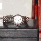 Pre Owned Women's Silver Color Anne Klein Date Quartz Watch