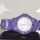 Pre Owned Girl's Purple Fashion Quartz Analog Watch