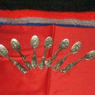 Pre-Owned 7 Vintage Collectors Franklin Mint Pewter Spoons