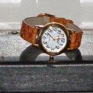 Pre-Owned Women's P O V B6270B Gold Tone Fashion Watch