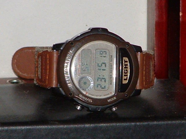 Pre-Owned Women�s Brown Casio W-89H Digital Watch
