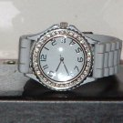 Pre-Owned Women's Grey Rhinestone Fashion Analog Quartz Watch