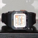 Pre-Owned Casio SDB-100 Black Runner Digital Watch