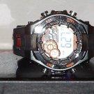 Pre-Owned Men's Black & Orange Armitron 40/8188 Digital Quartz Watch