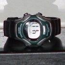 Pre-Owned Boy's Green & Gray Digital Chronograph Quartz Watch