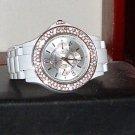 Pre-Owned Women's Style & Co SC1210 Rhinestone Fashion Analog Watch