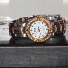 Pre-Owned Women's Anne Klein Swarovski Crystal Bezel Date Analog Quartz Watch