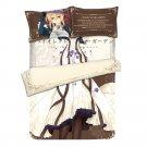 Violet Evergarden 4 PC Peach Skin King Size Bedding Set