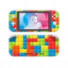 Building Block Vinyl Nintendo Switch Lite Console Skin Sticker Decal
