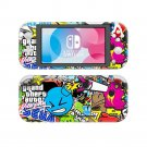 Grand Theft Auto GTA Vinyl Nintendo Switch Lite Console Skin Sticker Decal