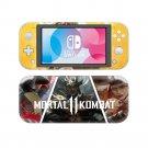Mortal Kombat Vinyl Nintendo Switch Lite Console Skin Sticker Decal Set