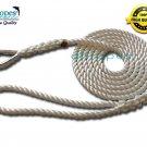 "1/2"" X 6 Three Strand Mooring Line 100% Nylon Rope with Thimble. (Tensile Strength 6700 Lbs.)"