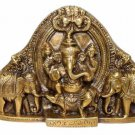 Gaj Ganpati in Brass by Sound Of Vedas
