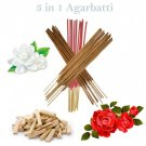 3 In 1 Agarbatti Incense Sticks - 150 sticks by Sound Of Vedas