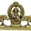 Brass Gaj Laxmi Statue Fine Collectible by Vedic Vaani