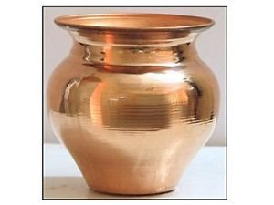 Kalash In Copper For Holy Waters