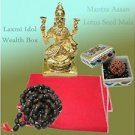 Laxmi Mantra Kit for daily Japa of godesses MahaLaxmi by Vedic Vaani