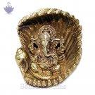 Shankh Ganesha in Brass