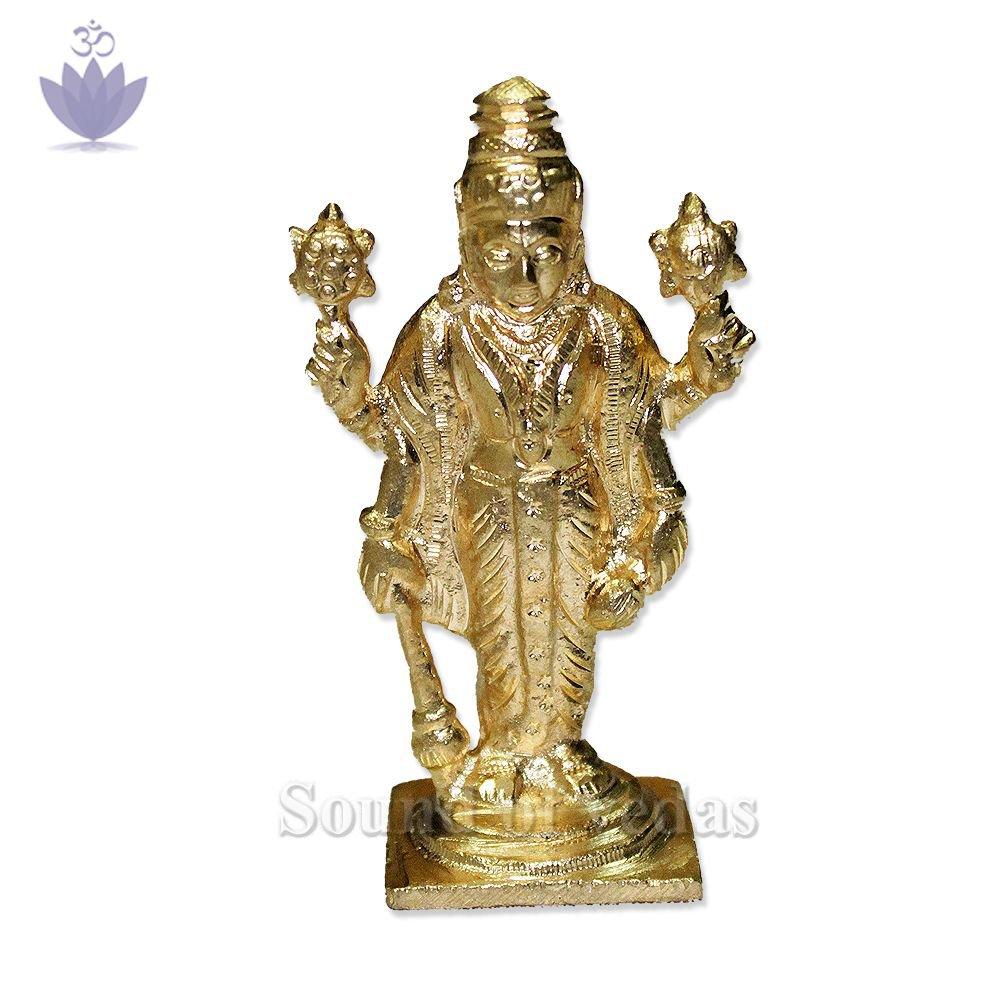 Vishnu in punchdhatu