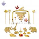 Ganesh Idol Shringar Set - Small