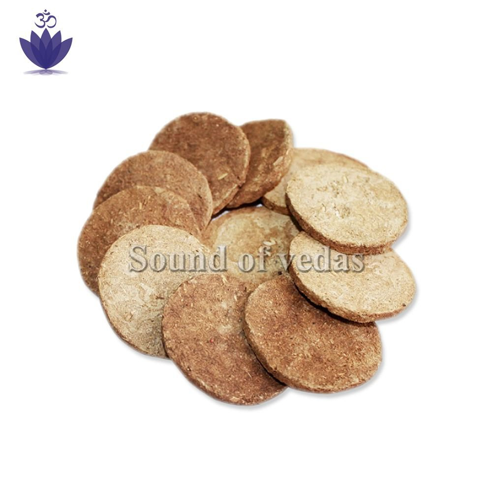 Cowdung Cakes for Agnihotra - 27pcs