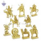 Navagraha - Nine Planets - Idols in Brass