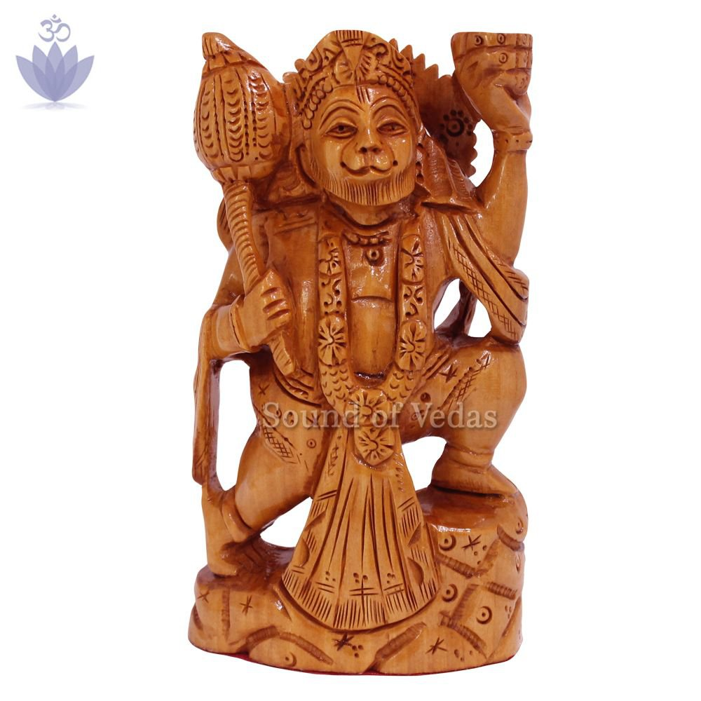 Bajrangbali Idol in Kadamb Wood