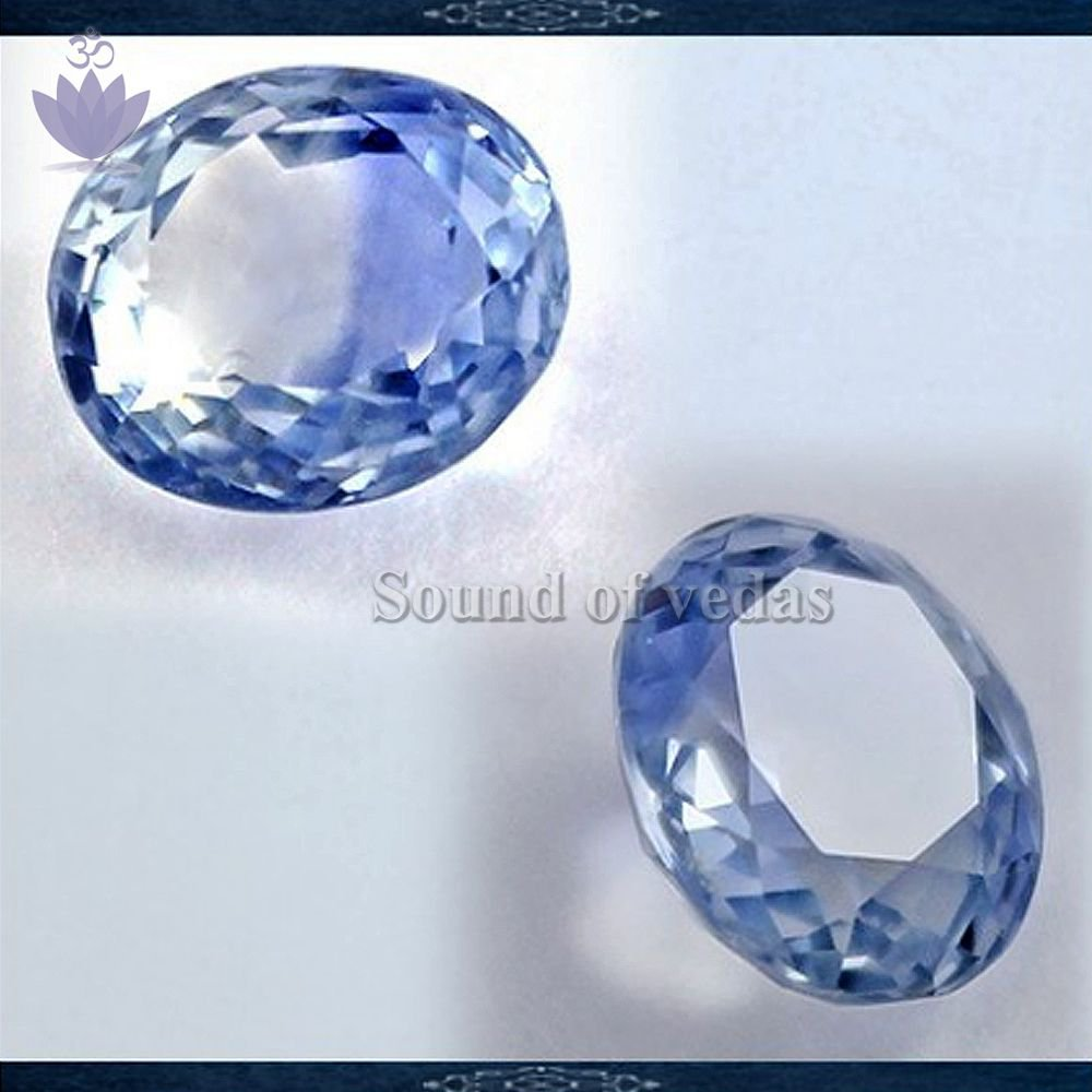 Blue Neelam Gemstone in 3.96 carats