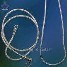 Snake silver chain–thin–Design II