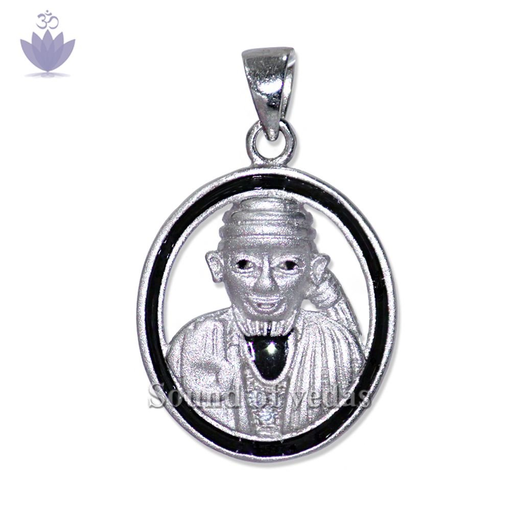 Shirdi Saibaba Locket in Pure Silver