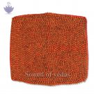 Rudraksha Red Cloth Mat