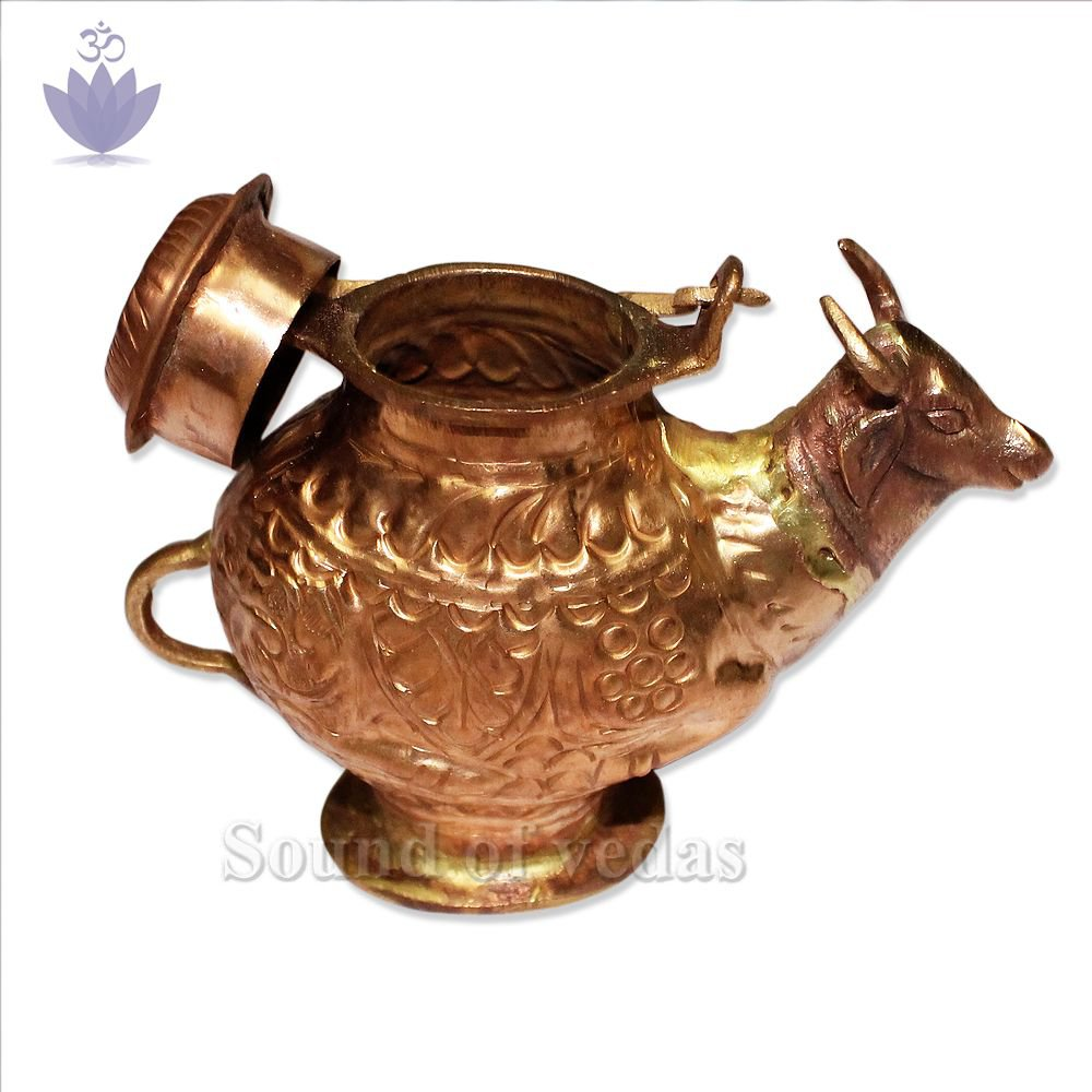 Nandi pot for Abhishekam