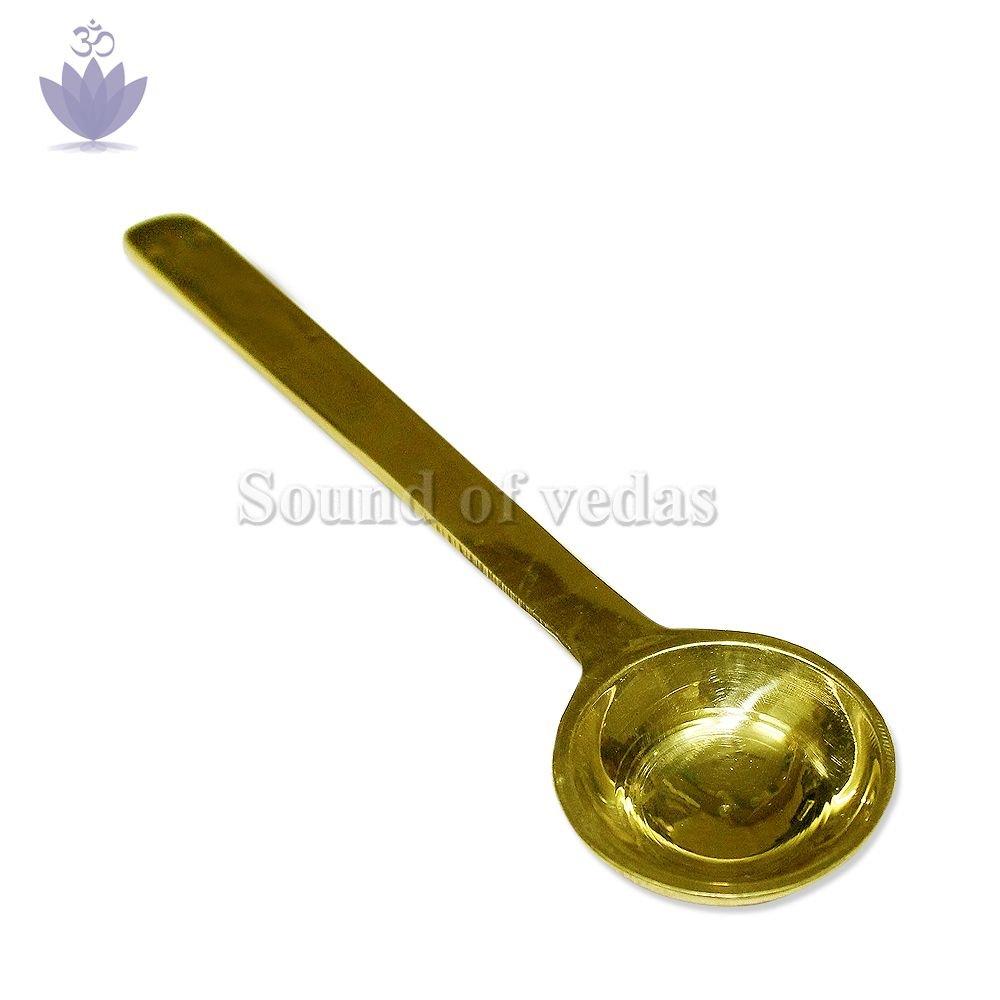 Brass Pali Spoon