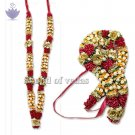 Deity Garland - Mogra Rose Flowers