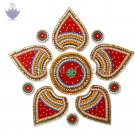 Decorative Kundan Acrylic Rangoli