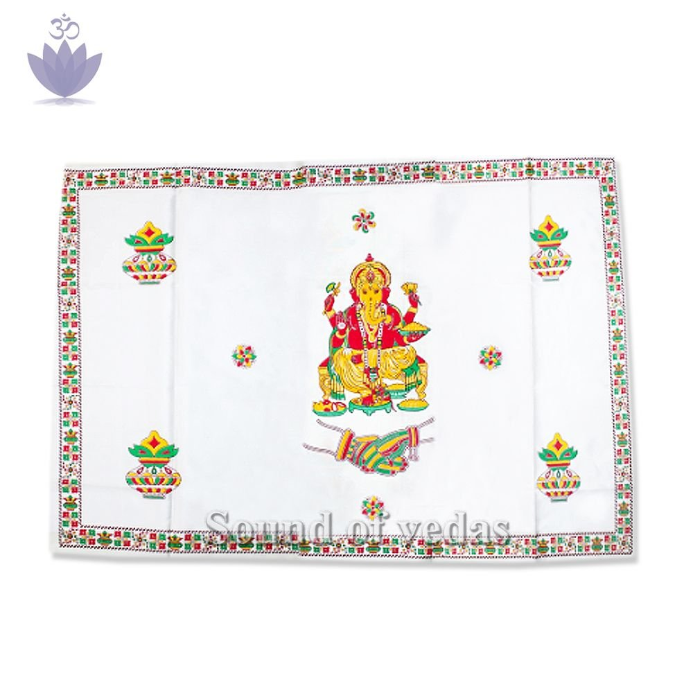 Decorative Ganesh Antarpat for Wedding