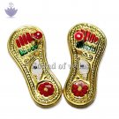 Golden Paduka - Small