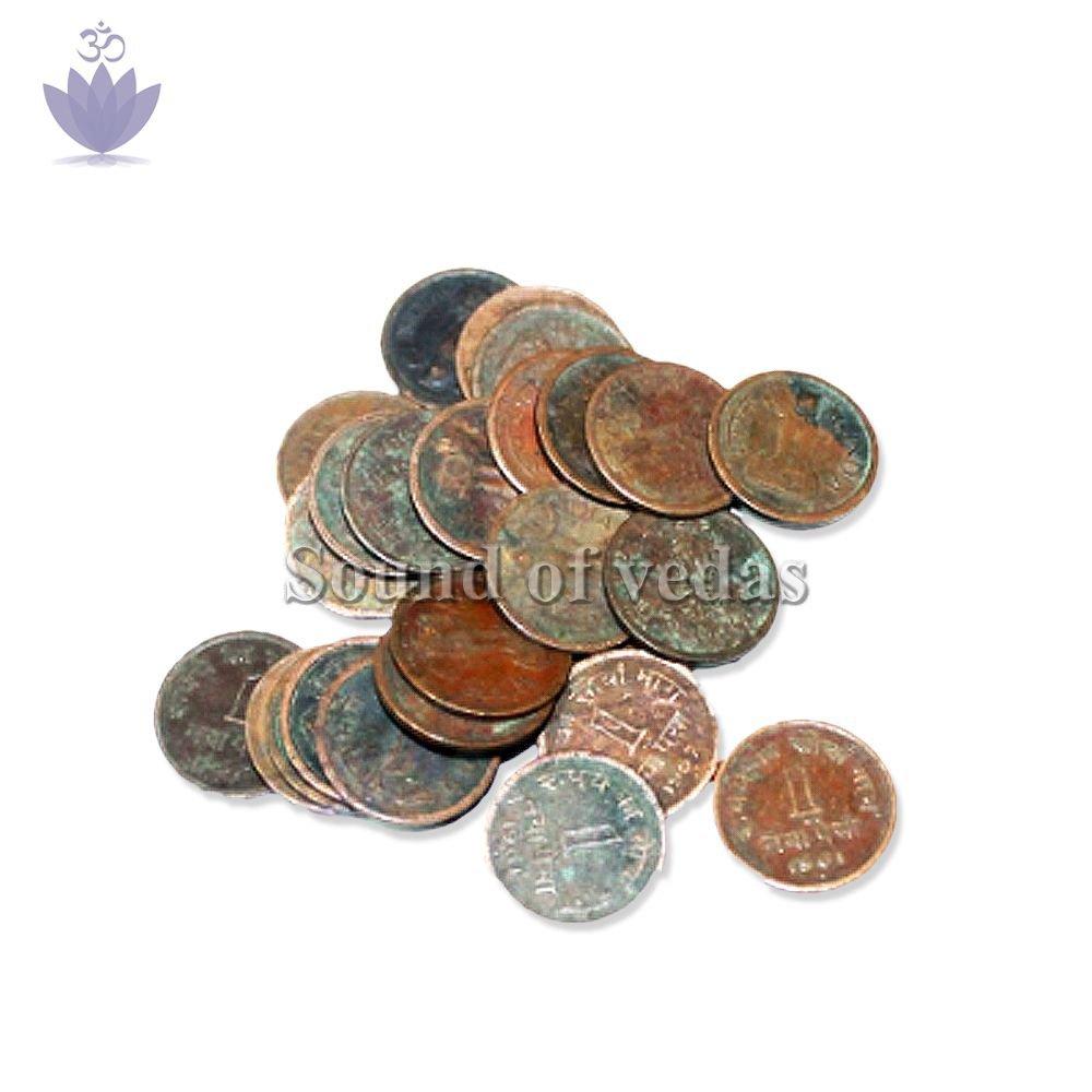 Pooja Copper Coins
