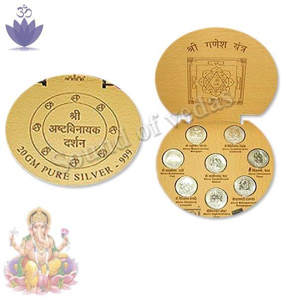 Ashtavinayak Silver Coins
