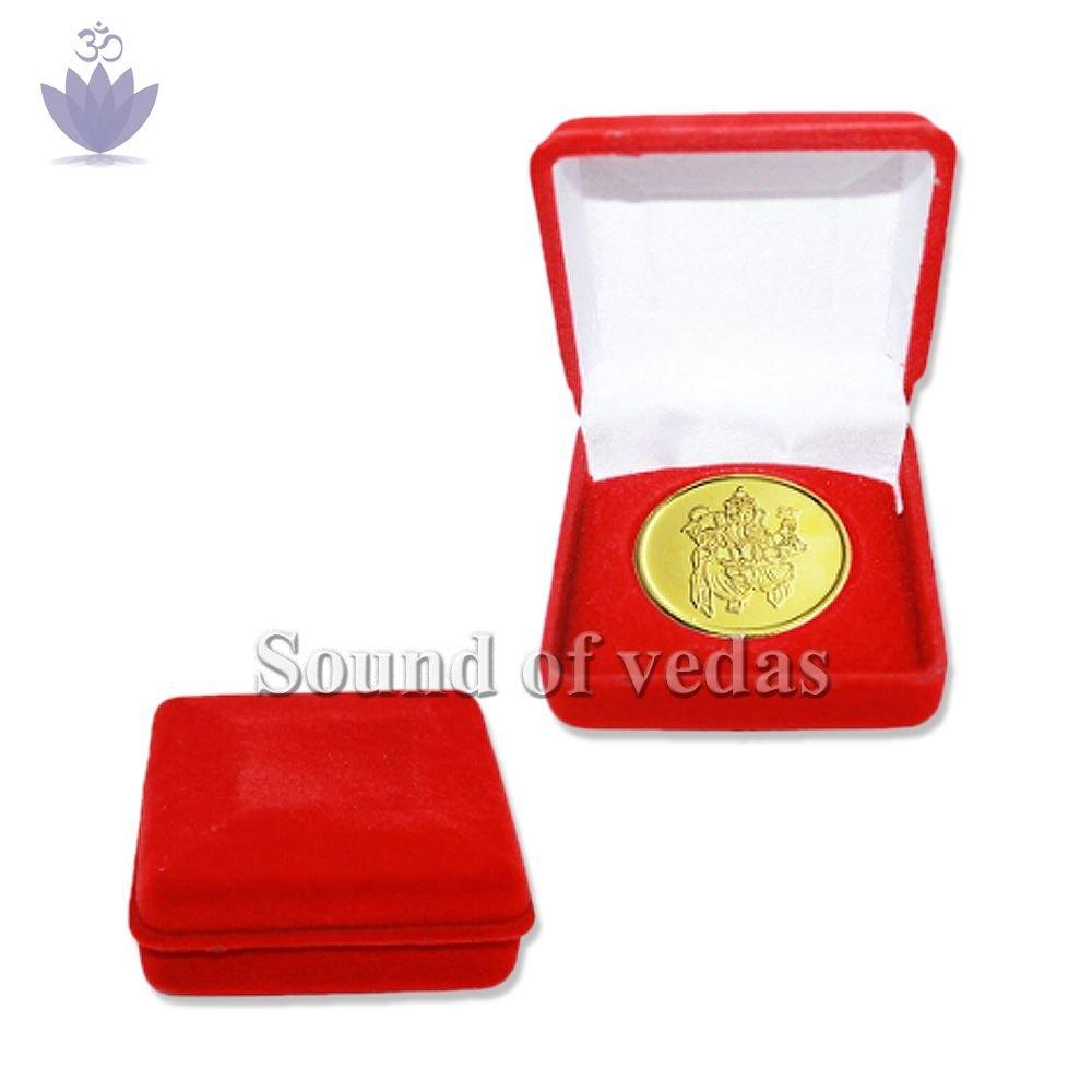 Shri Ganesh Yantra Coin in Copper