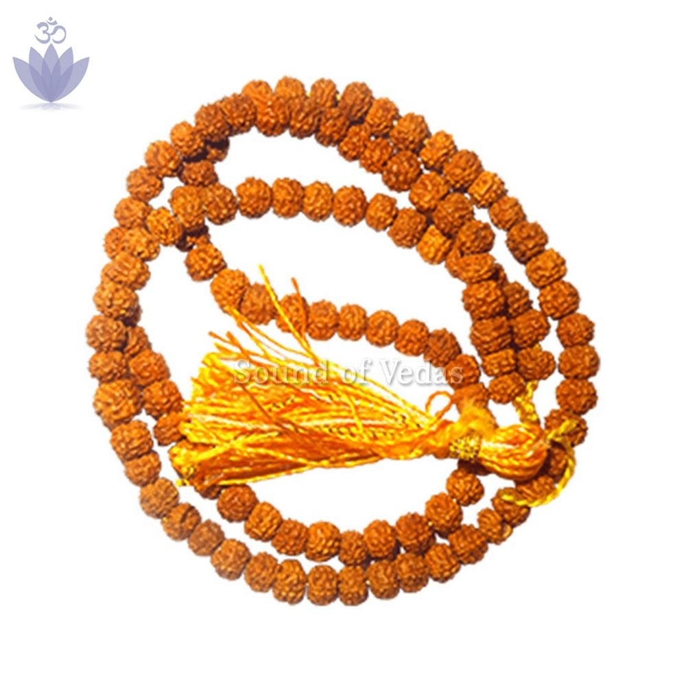 Rudraksha five mukhi japa mala