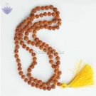 Rudraksha mala in thread - 5mm size