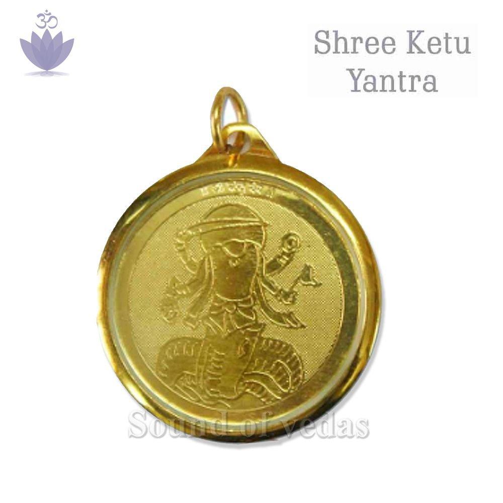 Ketu Yantra Locket in Acrylic